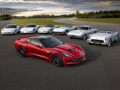 Corvette ~ Seven Generations