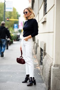How To Wear White Jeans This Spring | The Closet Heroes