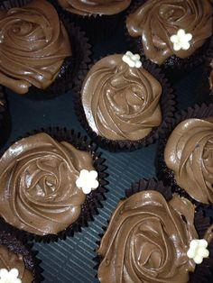 Choc on choc cupcakes, decedent but delicious