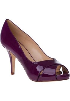 """Kate Spade  Billie Platform Pump New Purple Patent: These have """"Daniele"""" written all over them."""