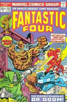 Fantastic Four #143. Dr Doom is back.
