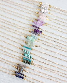 "0cba65b70851 Bohemian crystal jewellery on Instagram  ""I spent the morning at the local   rockngemshows buying new gemstone beads for my birthstone bead bar  necklaces."