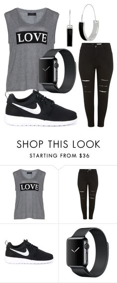 """""""Plus Size casual"""" by jsroper on Polyvore featuring Carmakoma, New Look, NIKE and Kenneth Cole"""