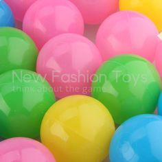 Find More Toys & Hobbies Information about 50pcs 5.5cm Colorful Soft Plastic Water Pool Ocean Ball Baby Kid Swim Pit Toy,High Quality Toys & Hobbies from New Fashion Toy Co., Ltd. on Aliexpress.com