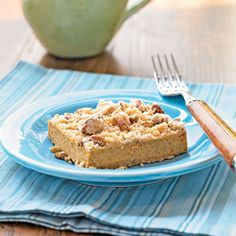 This dessert combines the spicy flavors of a pumpkin pie with the creamy richness of a cheesecake.