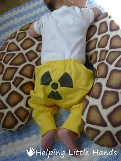 Nuclear Physicist - Radioactive Baby Nerdy Outfit    Helping Little Hands
