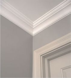 way to create nice molding for 8 ft ceilings