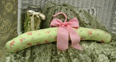 Padded Hangers Make The Perfect Gift Fabric Covered by KitchnCute, $10.00
