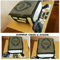The Holy Quran Themed Cake