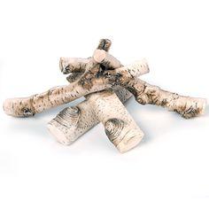 Polana ceramiczne do złudzenia przypominają prawdziwe drewno. Będą doskonałą dekoracją każdego biokominka. Do kupienia na www.mafodesign-sklep.pl #biokominek #kominek #polanaceramiczne #polana #dekoracje #design #biofireplace #fireplace #fakewood #ceramicwood #decoration