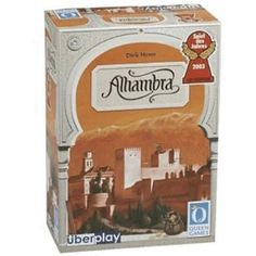 This multi award winning game (including Spiel des Jahres is a fantastic entry level game. In Alhambra, each player works to add buildings to their Alhambra complex in order to gain the most victory points. Currency Card, Zero Sum Game, Wil Wheaton, Ticket To Ride, Games To Buy, Perfect Game, Game Sales, Old Games, Family Game Night