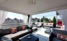 Rooftop Lounge @ Gansevoort NYC - Meatpacking district.