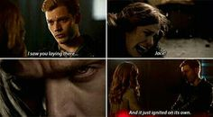 Clary and Jace. City Of Ashes, Clary And Jace, Gallagher Girls, Maximum Ride, Jace Wayland, Shadowhunters The Mortal Instruments, Clace, The Infernal Devices, Shadow Hunters