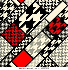 Seamless background pattern. Diagonal geometric pattern from hounds-tooths patterns.
