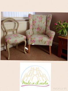 Fabulous reloved chairs contact me at www.facebook.com/madeinlincoln
