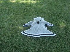 Koala Bear Lovey / Security Blanket - $5.00 by Tammy Mehring