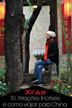 10 Atrações Imperdíveis em Xi'an, China! História, Aventura e diversão! Todos os lugares incríveis e o que fazer em Xi'an. Além de dicas de viagem, como tirar o visto Chinês e onde ficar.