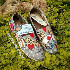 Price includes shoes. Leopard Print Nurse by MyHeartToYourSole
