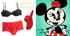 8 swimsuits inspired by Disney and Disney•Pixar characters   Minnie Mouse-inspired swim look   [ http://di.sn/6001BFsC1 ]