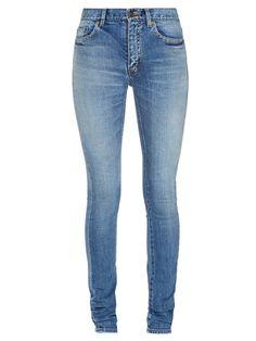 Mid-rise skinny jeans | Saint Laurent | MATCHESFASHION.COM