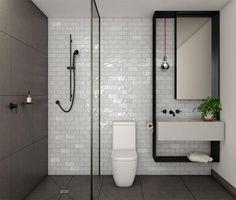minimalistische badkamers 1