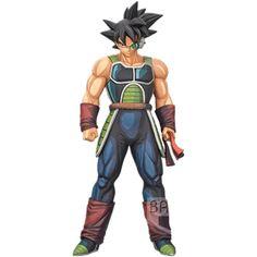 Dragon Ball Z Grandista Super Black Hair Goku Manga Burdock PVC Figure New Loose
