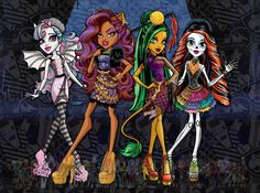 monst high pictures | Monster High: enero 2013
