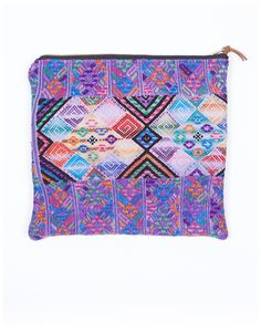 Fair trade woven bag made by women in Guatemala