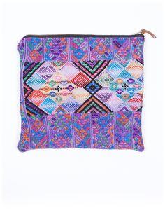 Fair trade woven bag made by women in Guatemala