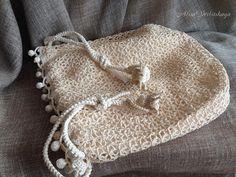Bag Pouch bag Irish crochet Gift for women Lace Purse Boho