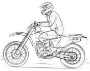 Dirt Bike Coloring Pages - Best Motorcycle - - Motorrad - Lustig Cars Coloring Pages, Coloring Pages For Boys, Coloring Pages To Print, Free Printable Coloring Pages, Coloring Books, Coloring Worksheets, Coloring Sheets, Motorbike Drawing, Bicycle Drawing