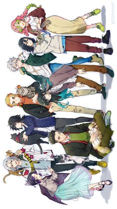 Anime Chibi, Kawaii Anime, Anime Manga, Anime Guys, Demon Slayer, Slayer Anime, Naruto Uzumaki Shippuden, Desenhos Cartoon Network, Dream Anime