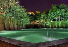 Water Gardens, Fort Worth, Texas, USA