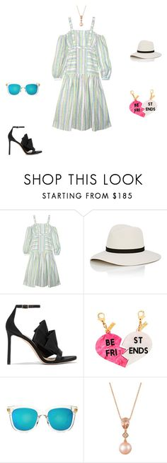 """""""Untitled #12693"""" by explorer-14576312872 ❤ liked on Polyvore featuring Gül Hürgel, Janessa Leone, Jimmy Choo, Edie Parker, Gentle Monster and LE VIAN"""