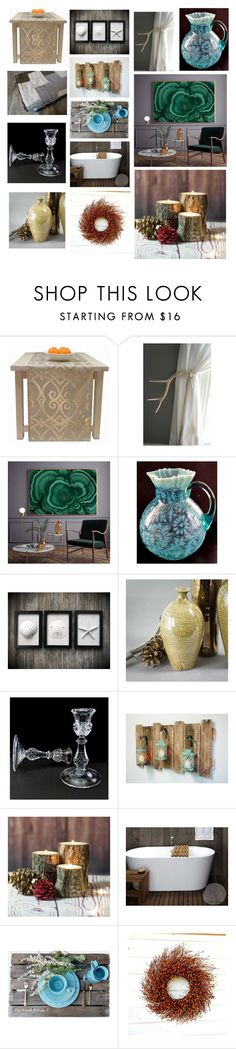 """home deco"" by anastasiatsouk on Polyvore featuring interior, interiors, interior design, home, home decor, interior decorating and rustic"