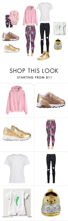 """""""mommy dad  baby boy baby girl"""" by goldenkae ❤ liked on Polyvore featuring beauty, Carter's, New Balance, AMIRI and BUSCEMI"""