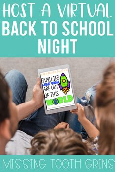 Back To School Night, Going Back To School, First Day Of School, Letter To Teacher, Meet The Teacher, Open House Night, Family Math Night, Interactive Activities, Fun Activities