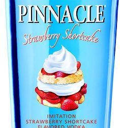 dessert in a bottle #pinnacle #ontop #strawberry