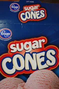 Sugar Cone Cornucopia - Made From Pinterest