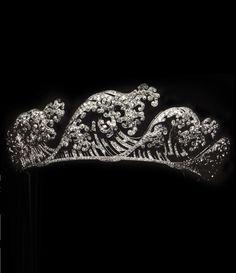 WOW. Boucheron-Belle Epoque diamond tiara, c1910
