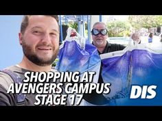 (1867) Shopping at Avengers Campus Stage 17 | Disney California Adventure - YouTube New Avengers, Disney California Adventure, Disneyland Resort, Stage, Marvel, Youtube, Fictional Characters, Shopping, Fantasy Characters