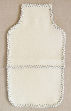 Felted Wool Hot Water Bottle Cover | Purl Soho - Create