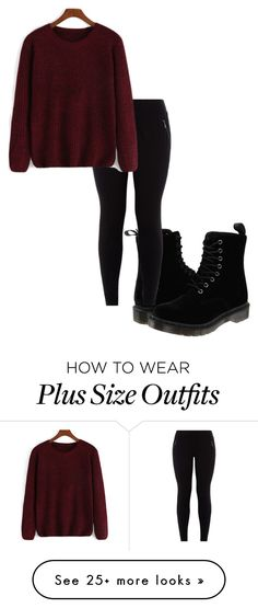 """Untitled #212"" by autumnjones14 on Polyvore featuring Dr. Martens"