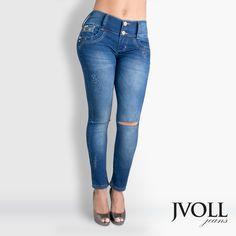 El encanto de nuestros jeans y las tendencias más actuales los encuentras en JVOLL #FelizMartes #Moda #Mexico #Colombia #Jeans #Tendencias