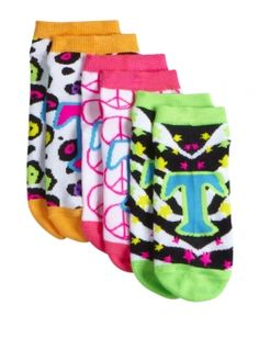 Neon Initial Socks Shop Justice, Girls Socks, Colorful Socks, Initials, Trunks, Girl Outfits, Swimming, Neon, Swimwear