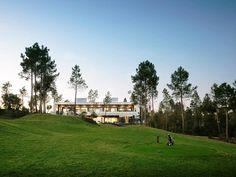 Spanish Villa Luxury Design With Golf Course