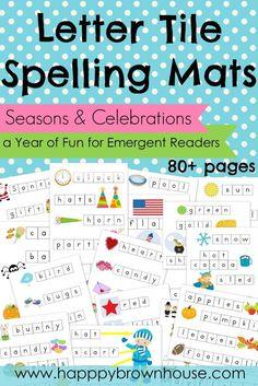Letter Tile Spelling