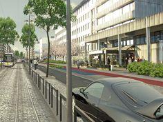 visualisatie tramproject de Lijn LIVAN Antwerpen