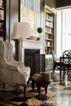 Stylish, Playful New York Rowhouse | Traditional Home: