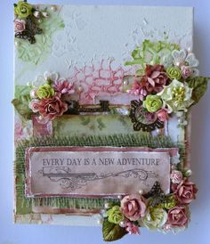 My Scrappin Spot: Couture Creations Vintage Rose Garden Collection Projects for Bella Paperie +Video #couturecreationaus #vintagerosegarden #canvas